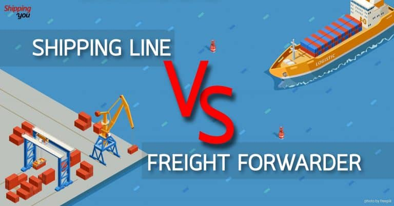1688 Shipping Line VS Freight Forwarder 1688 1688 ข้อดี VS ข้อจำกัดของ Shipping Line และ Freight Forwarder Shipping Line VS Freight Forwarder shippingyou 768x402