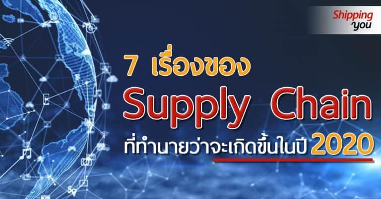 1688 Supply Chain_ShippingU 1688 1688 ตามติด 7 เรื่องของ Supply Chain ที่ทำนายว่าจะเกิดขึ้นในปี 2020 Supply Chain ShippingU 768x402